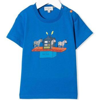Abbigliamento Bambina T-shirt maniche corte Paul Smith ROYAL Blu