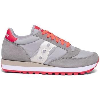 Scarpe Bambina Sneakers basse Saucony SCARPA JAZZ ORIGINAL ARANCIO FLUO--564 Grigio