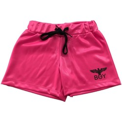 Abbigliamento Bambina Shorts / Bermuda Boy London SHORTS RAGAZZA FLUO HBL2102J Fuxia