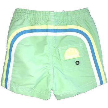 Abbigliamento Bambino Costume / Bermuda da spiaggia Sundek COSTUME CHIARO GIALLO Verde