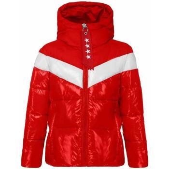 Abbigliamento Bambina Piumini Invicta GIUBBOTTO BIANCO Rosso