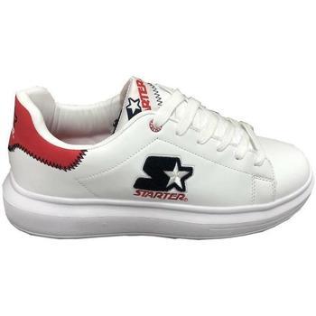 Scarpe Uomo Sneakers basse Starter ROSSO Bianco