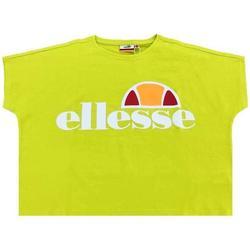 Abbigliamento Donna T-shirt maniche corte Ellesse LIME Verde Fluo