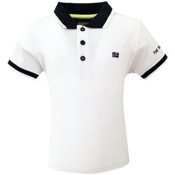 Abbigliamento Bambino Polo maniche corte Essenza T703/SCJJ Bianco