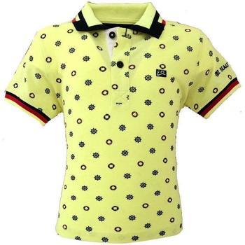 Abbigliamento Bambino Polo maniche corte Essenza T706/SEJJ Giallo