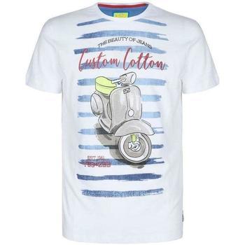 Abbigliamento Bambino T-shirt maniche corte Essenza T700/TLJL Bianco