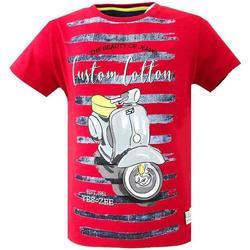 Abbigliamento Bambino T-shirt maniche corte Essenza T700/TLJL Rosso