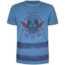 Abbigliamento Bambino T-shirt maniche corte Essenza T701/S5JA Bluette