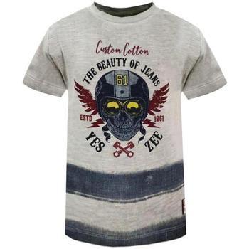 Abbigliamento Bambino T-shirt maniche corte Essenza T701/S5JA Grigio