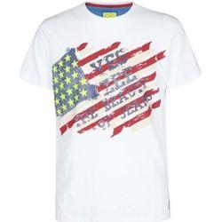 Abbigliamento Bambino T-shirt maniche corte Essenza T700/TLJP Bianco