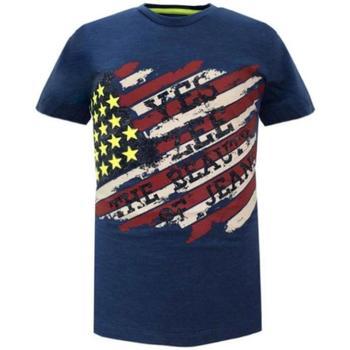 Abbigliamento Bambino T-shirt maniche corte Essenza  Bluette
