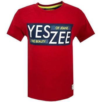 Abbigliamento Bambino T-shirt maniche corte Essenza T700/TLJO Rosso