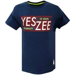 Abbigliamento Bambino T-shirt maniche corte Essenza T700/TLJO Bluette