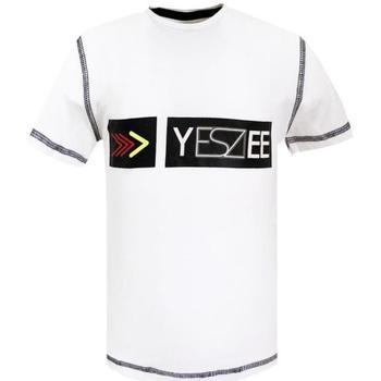 Abbigliamento Bambino T-shirt maniche corte Essenza T720/TCJG Bianco