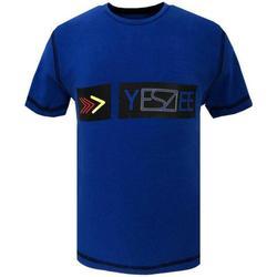 Abbigliamento Bambino T-shirt maniche corte Essenza ROYAL Blu