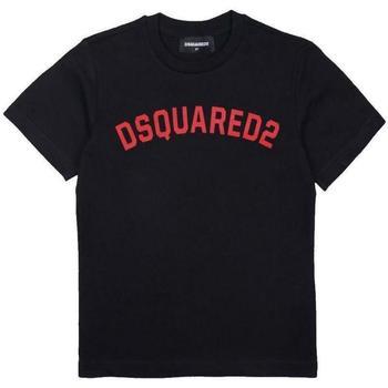Abbigliamento Bambino T-shirt maniche corte Dsquared DQ04HS-D002M Nero