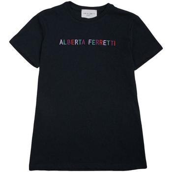 Abbigliamento Bambina T-shirt maniche corte Alberta Ferretti 019299 Blu