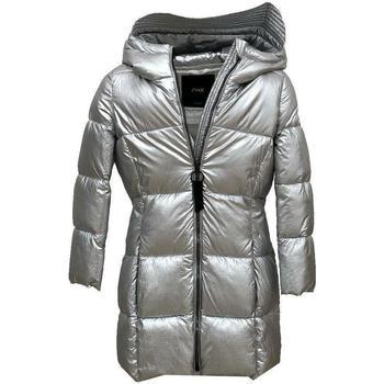 Abbigliamento Bambina Piumini Fk GIUBBOTTO Argento