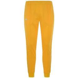 Abbigliamento Bambino Pantaloni da tuta Kappa PANT.FELPA BAMBINI BIANCO ANTICO Giallo