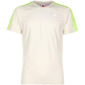 Abbigliamento Uomo T-shirt maniche corte Kappa GIALLO FLUO Bianco
