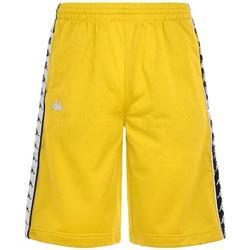 Abbigliamento Uomo Shorts / Bermuda Kappa BERMUDA NERO BIANCO Giallo