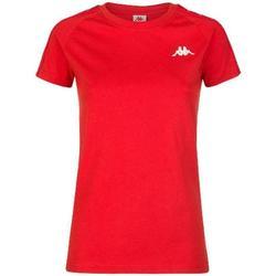 Abbigliamento Donna T-shirt maniche corte Kappa 303H1U0 Rosso