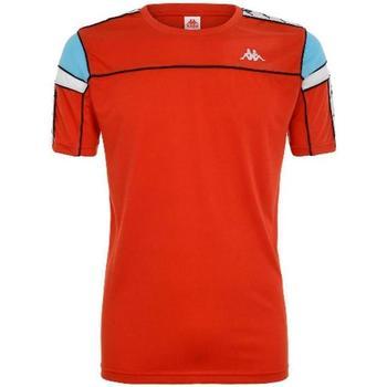 Abbigliamento Bambino T-shirt maniche corte Kappa BIANCO TURCHESE Rosso
