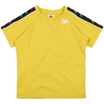 Abbigliamento Bambina T-shirt maniche corte Kappa BIANCO Giallo
