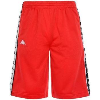 Abbigliamento Bambino Shorts / Bermuda Kappa BERMUDA NERO BIANCO Rosso