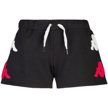 Abbigliamento Bambina Shorts / Bermuda Kappa BIANCO ROSSO Nero