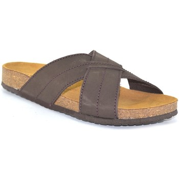 Scarpe Uomo Ciabatte Morxiva Shoes  Marron