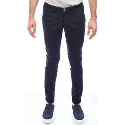Abbigliamento Uomo Chino Barbati ANTONY 571/111 BLU Pantalone Uomo Uomo Blu Blu