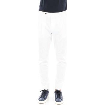Abbigliamento Uomo Chino Pto5 COHT22ZSOCL1-NU23 Regular Uomo Bianco Bianco