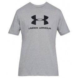 Abbigliamento Uomo T-shirt maniche corte Under Armour Sportstyle Logo Tee grigio