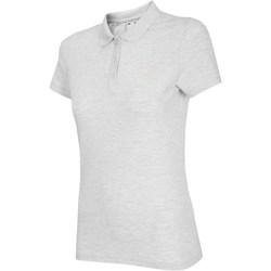 Abbigliamento Donna T-shirt maniche corte 4F NOSH4 TSD007 Biały Melanż Bianco,Grigio