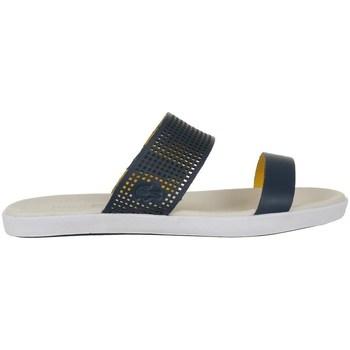 Scarpe Donna Infradito Lacoste Natoy Slide Blu marino
