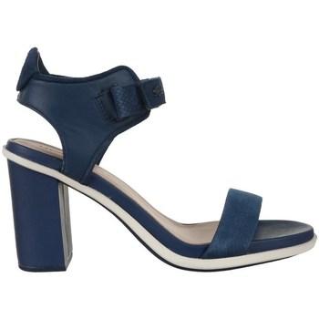 Scarpe Donna Sandali Lacoste Lonelle Heel Sandal Blu marino