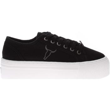 Scarpe Donna Sneakers basse Windsor Smith WSPRUBT-BLKWHT-UNICA - Sneaker  Nero