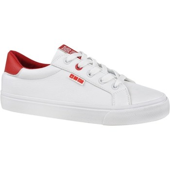 Scarpe Donna Sneakers basse Big Star EE274311 Bianco,Rosso