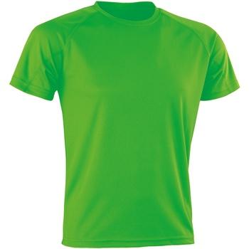 Abbigliamento T-shirt maniche corte Spiro Aircool Verde fluo