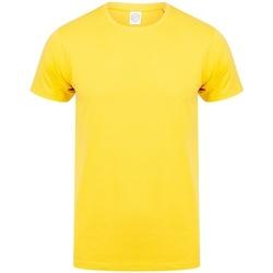 Abbigliamento Uomo T-shirt maniche corte Skinni Fit SF121 Giallo