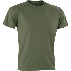 Abbigliamento Uomo T-shirt maniche corte Spiro Aircool Militare