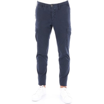Abbigliamento Uomo Pantalone Cargo Pto5 COTTCRZLOWOL-NU06 Cargo Uomo Blu Blu