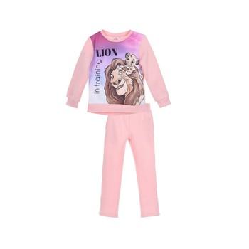 Abbigliamento Bambina Tuta TEAM HEROES JOGGING  LION KING Rosa