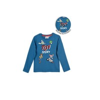 Abbigliamento Bambino T-shirts a maniche lunghe TEAM HEROES  TOY STORY Blu