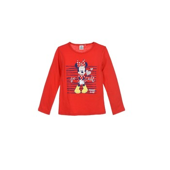 Abbigliamento Bambina T-shirts a maniche lunghe TEAM HEROES MINNIE Rosso