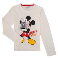 Abbigliamento Bambino T-shirts a maniche lunghe TEAM HEROES MICKEY Bianco