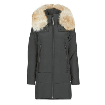 Abbigliamento Donna Piumini MICHAEL Michael Kors ELEVATED DOWN FUR COLLAR HOOD Nero