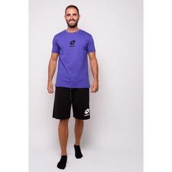Abbigliamento Uomo T-shirt maniche corte Lotto T-shirt  Mezza Manica Jersey (ltu012-arancio) Arancio