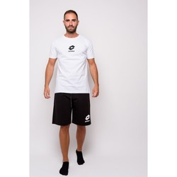 Abbigliamento Uomo T-shirt maniche corte Lotto T-shirt  Mezza Manica Jersey (ltu012-bianco) Bianco